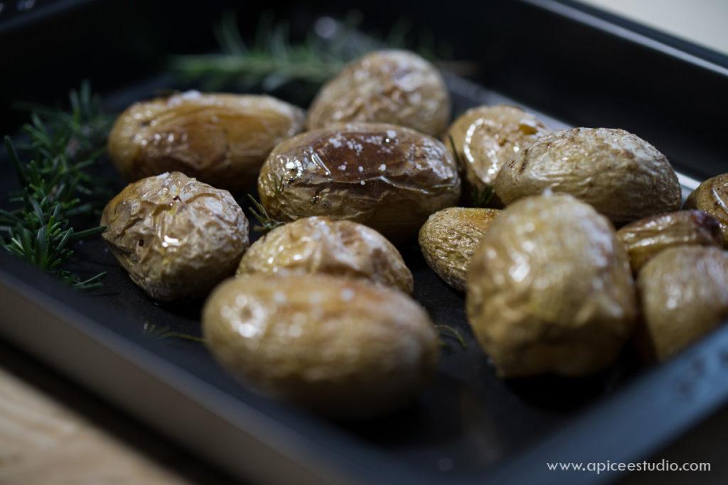 Patatas asadas al romero 4