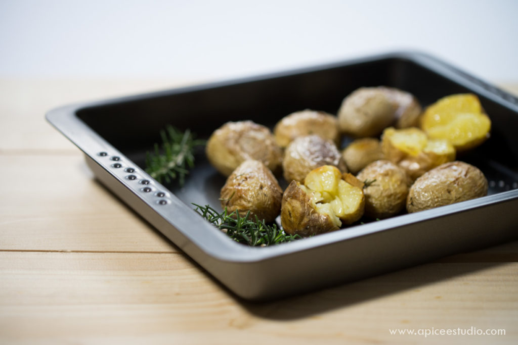 Patatas asadas al romero 1