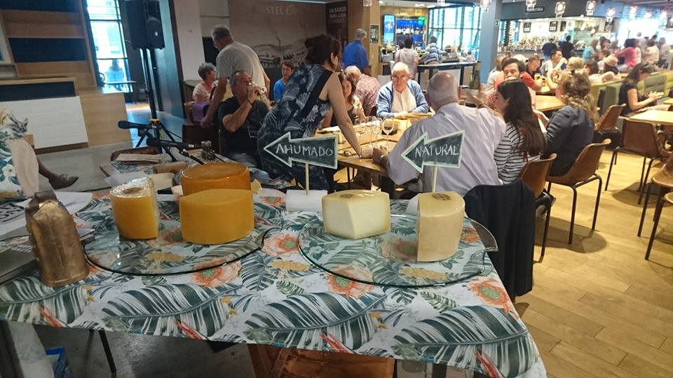 Cata de quesos Idiazabal 5