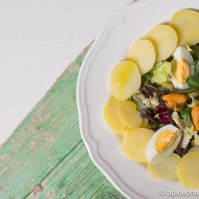 Ensalada de patata y huevo cocido 3