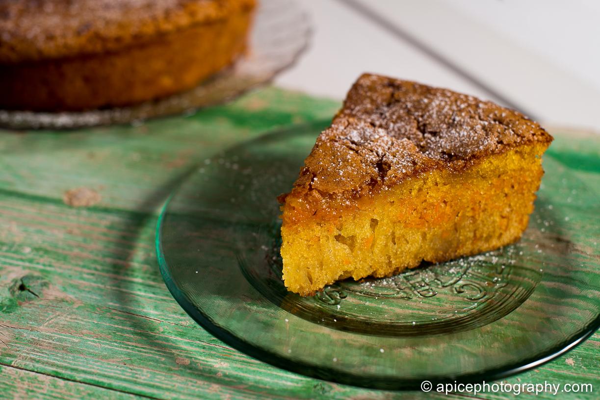 Bizcocho de zanahoria, posiblemente la tarta más rica del mundo
