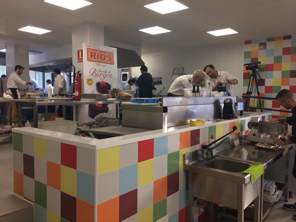 En la cocina en Vicook 2017