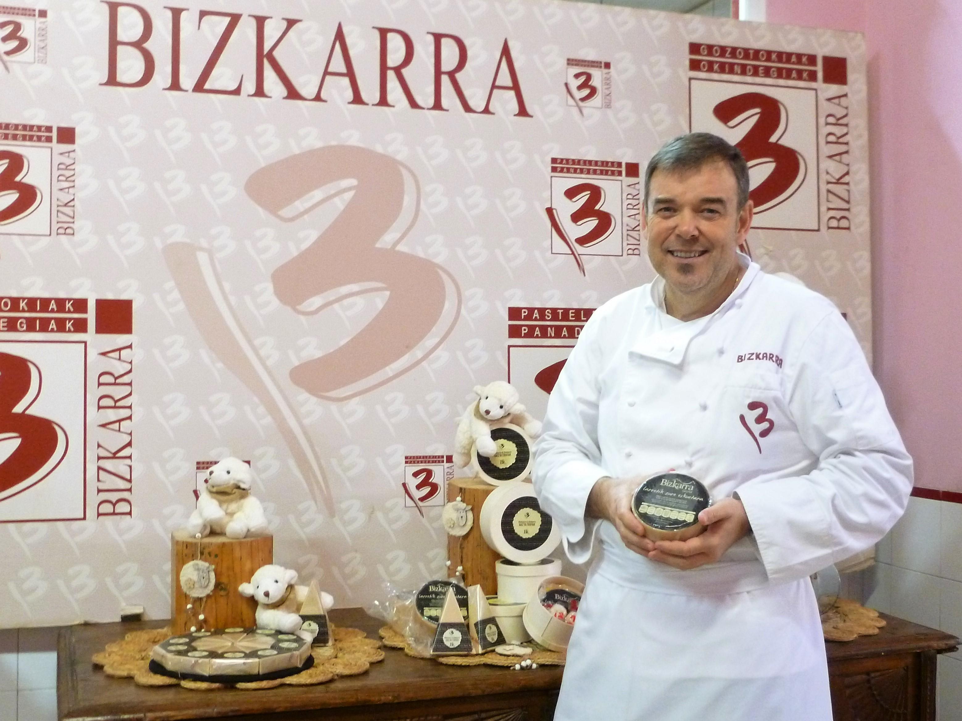 Turrón de queso Bizkarra 3