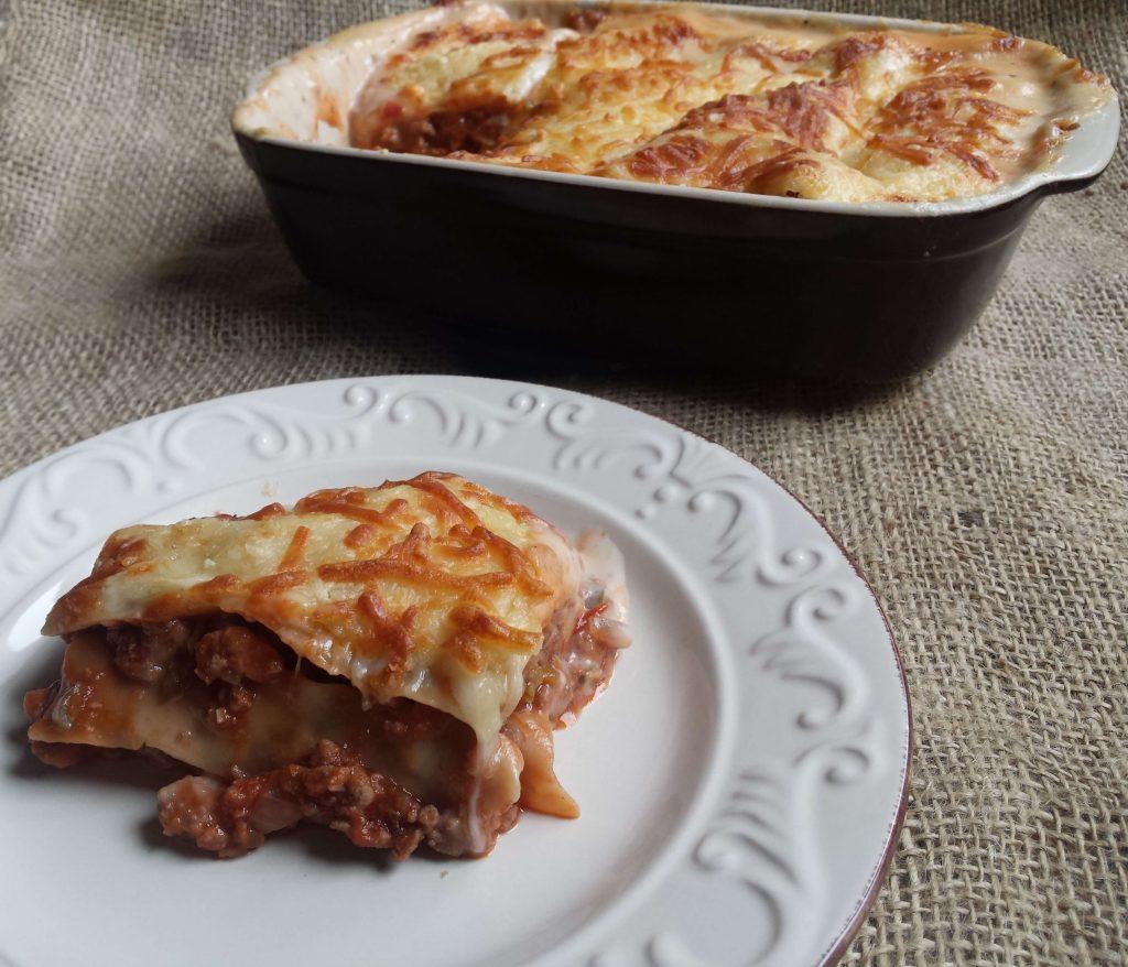 Lasaña de carne o pasta a la boloñesa 4