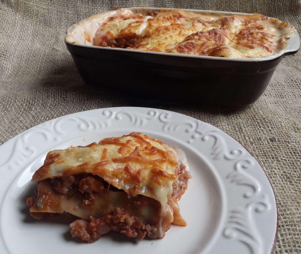 Lasaña de carne o pasta a la boloñesa 6