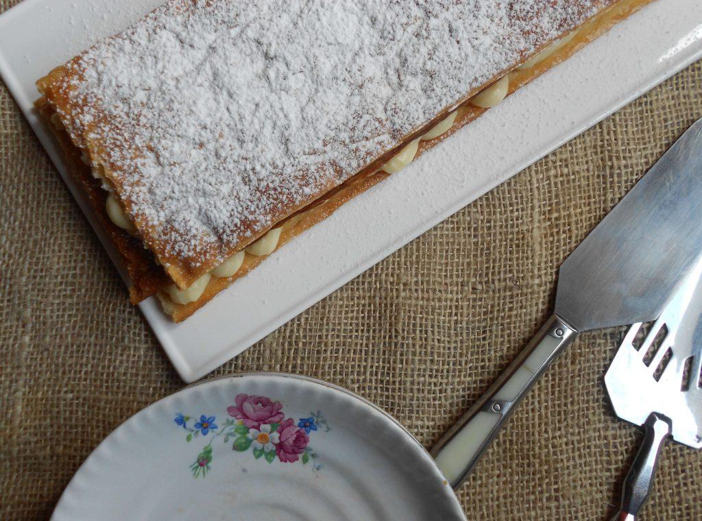Milhojas de crema pastelera, delicia casera 4