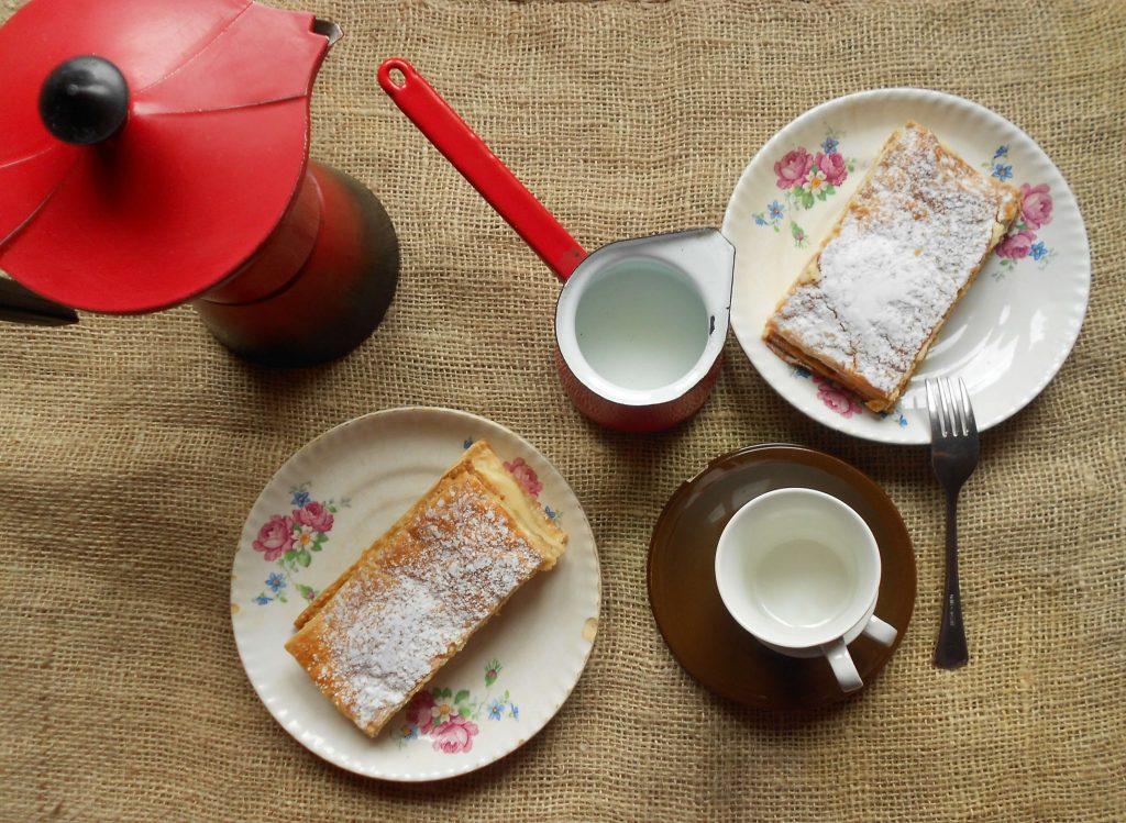 Milhojas de crema pastelera, delicia casera 5