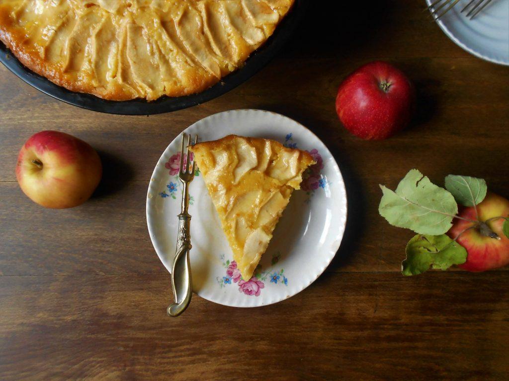 Bizcocho de manzana y zanahoria 5