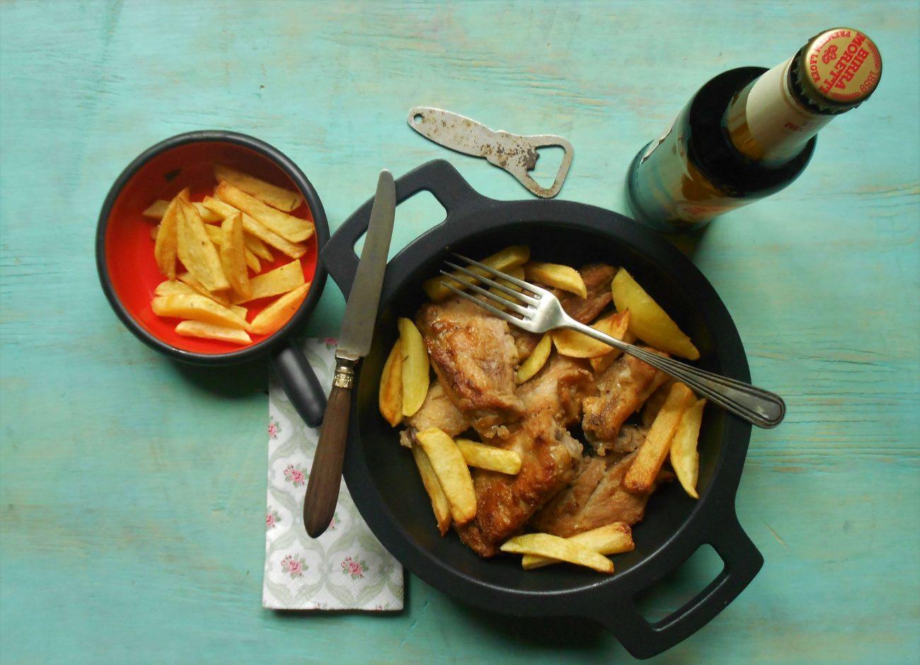 Pollo a la cerveza, receta fácil y rica