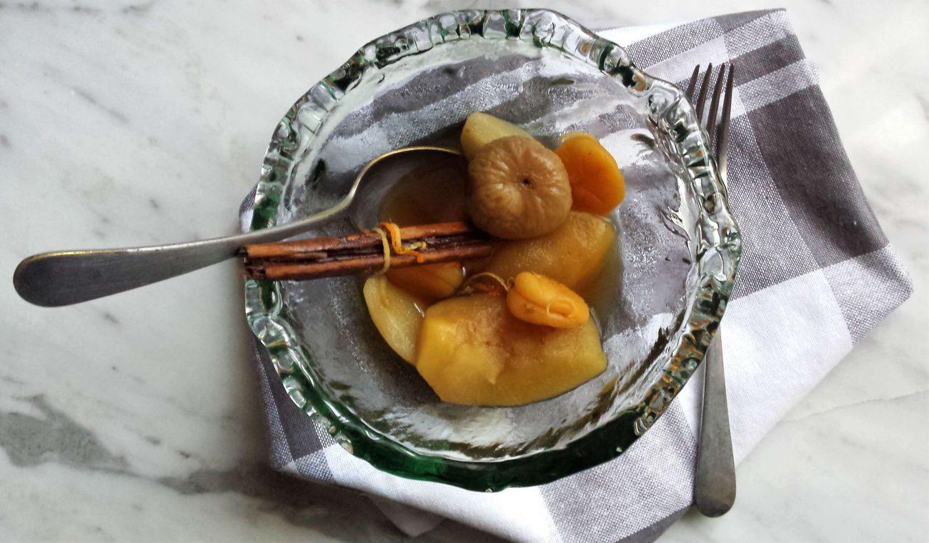 Compota de invierno, receta sencilla y deliciosa
