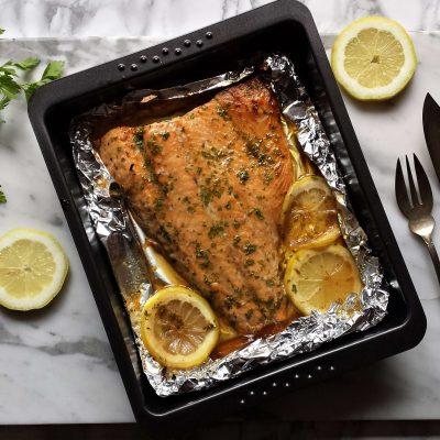 Bandeja de salmón al horno 2